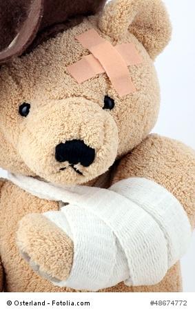 injured teddy