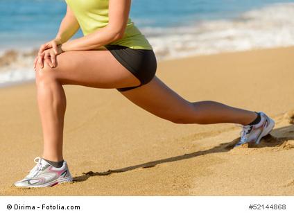 iliopsoas stretch woman