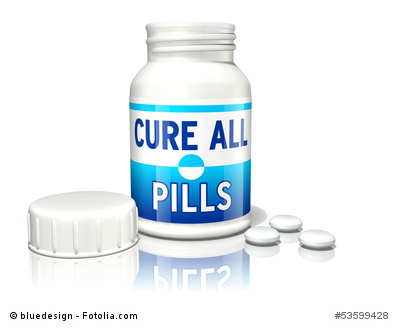 Cure all pills