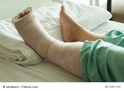 After flat foot surgery