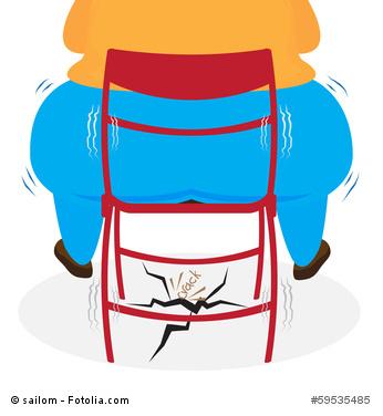 fat butt sitting