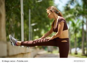 Posterior pelvic tilt exercise stretch standing