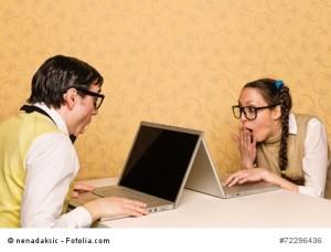 nerds sitting