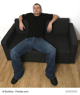 Sitting lazy