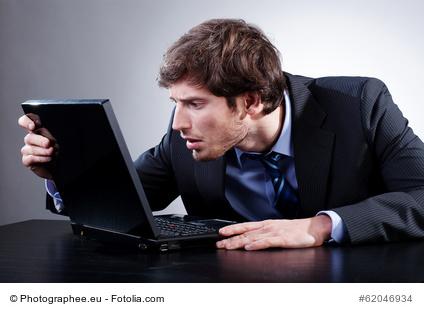 poor posture at computer